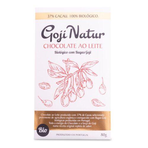 GojiNatur - Chocolate Leite Goji