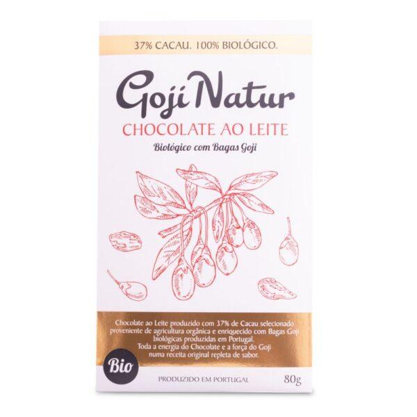 GojiNatur – Chocolate Leite Goji